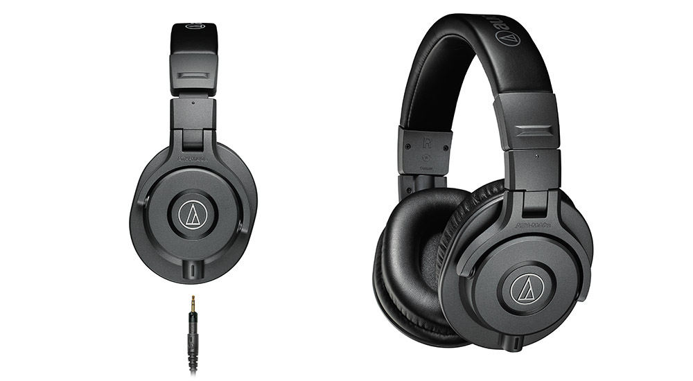 Reviewed: Audio Technica ATH-M40X headphones