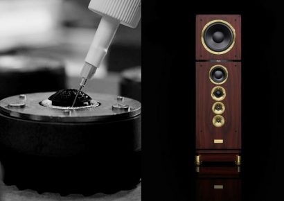 Dynaudio consequence loudspeaker and soft dome manufacturing